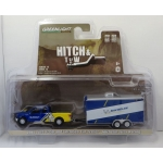 Greenlight 1:64 Ford F-150 2016 and Michelin Tires Racing Trailer