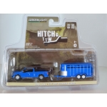 Greenlight 1:64 Ford F-150 2016 and Livestock Trailer