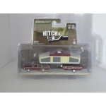 Greenlight 1:64 Ford LTD Country Squire 1981 and Pop-Up Camper Trailer