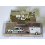 Greenlight 1:64 2015 Ford Explorer New York City Department of Parks & Recreation with Small Cargo Trailer