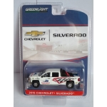 Greenlight 1:64 Chevrolet Silverado 2015 with Safety Equipment in Truck Bed