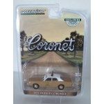 Greenlight 1:64 Dodge Coronet 1975 Choctaw County Sheriff beige