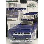 Greenlight 1:64 Ford Club Wagon 1969 City Police Emergency