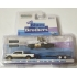 Greenlight 1:64 Blues Brothers - Ram 1500 2015 with Dodge Monaco 1974 Bluesmobile on Flatbed Trailer