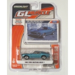 Greenlight 1:64 Ford Mustang Mach I 1969 gulfstream aqua