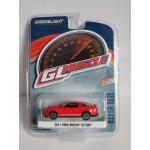 Greenlight 1:64 Ford Shelby GT-500 SVT 2011 race red