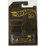 Hot Wheels 1:64 50th Black & Gold - Rodger Dodger