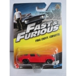Hot Wheels 1:55 Fast & Furious - Chevy Corvette 1966
