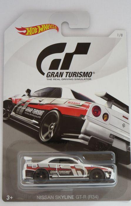 2018 Hot Wheels Nissan Skyline GT-R R34 Grand Turismo
