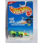 Hot Wheels 1:64 Dragon Wagon yellow green HW1996