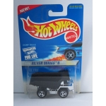Hot Wheels 1:64 Dump Truck chrome HW1996