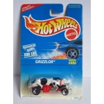 Hot Wheels 1:64 Grizzlor white black spots HW1996