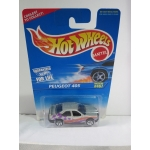 Hot Wheels 1:64 Peugeot 405 silver HW1996