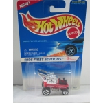 Hot Wheels 1:64 Radio Flyer Wagon red HW1996
