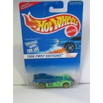 Hot Wheels 1:64 Road Rocket green blue HW1996