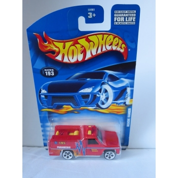 Hot Wheels 1:64 Rescue Ranger red HW2001
