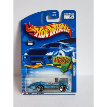 Hot Wheels 1:64 Turbolence blue HW2002