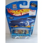 Hot Wheels 1:64 Bus blue HW2003