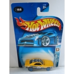 Hot Wheels 1:64 Camaro 1967 yellow HW2003