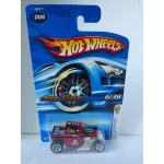 Hot Wheels 1:64 Bone Shaker dark red HW2006