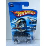 Hot Wheels 1:64 Hummer dark blue HW2006