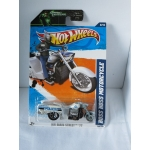 Hot Wheels 1:64 Boss Hoss Motorcycle white HW2011