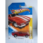 Hot Wheels 1:64 Boulevard Bruiser dark orange HW2011