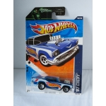 Hot Wheels 1:64 Chevy 1957 blue HW2011