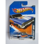 Hot Wheels 1:64 Chevy Nova 1966 blue HW2011