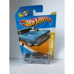 Hoit Wheels 1:64 Chevy Chevelle SS 1964 blue HW2012