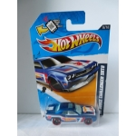 Hoit Wheels 1:64 Dodge Challenger SRT8 2008 blue HW2012