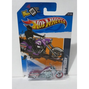 Hot Wheels 1:64 Bad Bagger purple HW2012