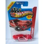 Hot Wheels 1:64 Bullet Proof clear red HW2013
