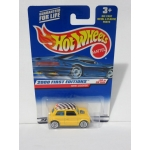Hot Wheels 1:64 Mini Cooper yellow HW2000