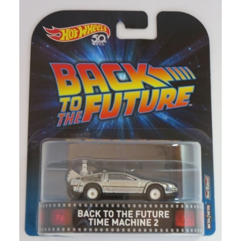 Hot Wheels 1:64 Back To The Future -  Time Machine 2