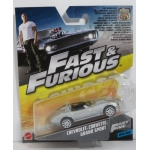 Hot Wheels 1:55 Fast & Furious - Chevrolet Corvette Grand Sport