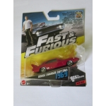 Hot Wheels 1:55 Fast & Furious - Dodge Charger Daytona 1969 red
