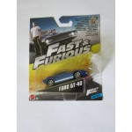 Hot Wheels 1:55 Fast & Furious - Ford GT40 blue