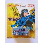 Hot Wheels 1:64 The Black Widow - Combat Medic
