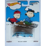 Hot Wheels 1:64 Peanuts - Rolling Thunder