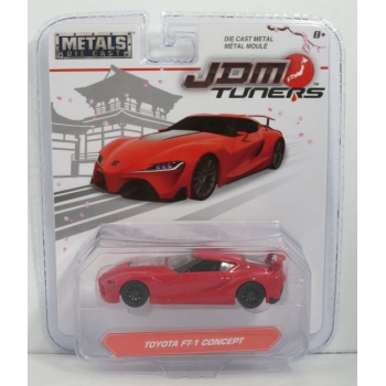 Jada Toys 1:64 Toyota FT-1 Concept red