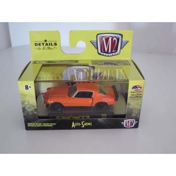 M2 Machines 1:64 Chevrolet Camaro SS 396 1971 orange