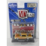 M2 Machines 1:64 Chevrolet Bel Air 1957 gold