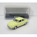 Norev 1:87 Panhard Dyna Z12 1957 yellow