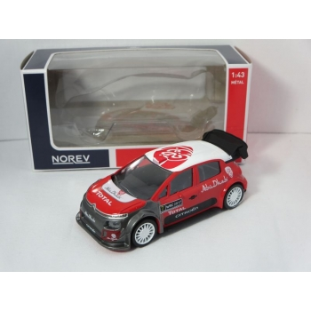 Norev Jet-car 1:43 Citroen C3 WRC 2017 Official Presentation Version