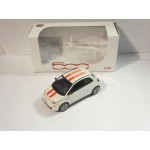 Norev Jet-car 1:43 Fiat Nuova 500 Sport white red roof stripes