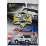Racing Champions 1:64 Ford Bronco 1980 California Highway Patrol white