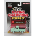 Racing Champions 1:64 Ford Truck 1953 light green