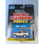 Racing Champions 1:64 Ford Bronco 1980 white orange