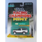 Racing Champions 1:64 Ford Bronco 1980 dark red white